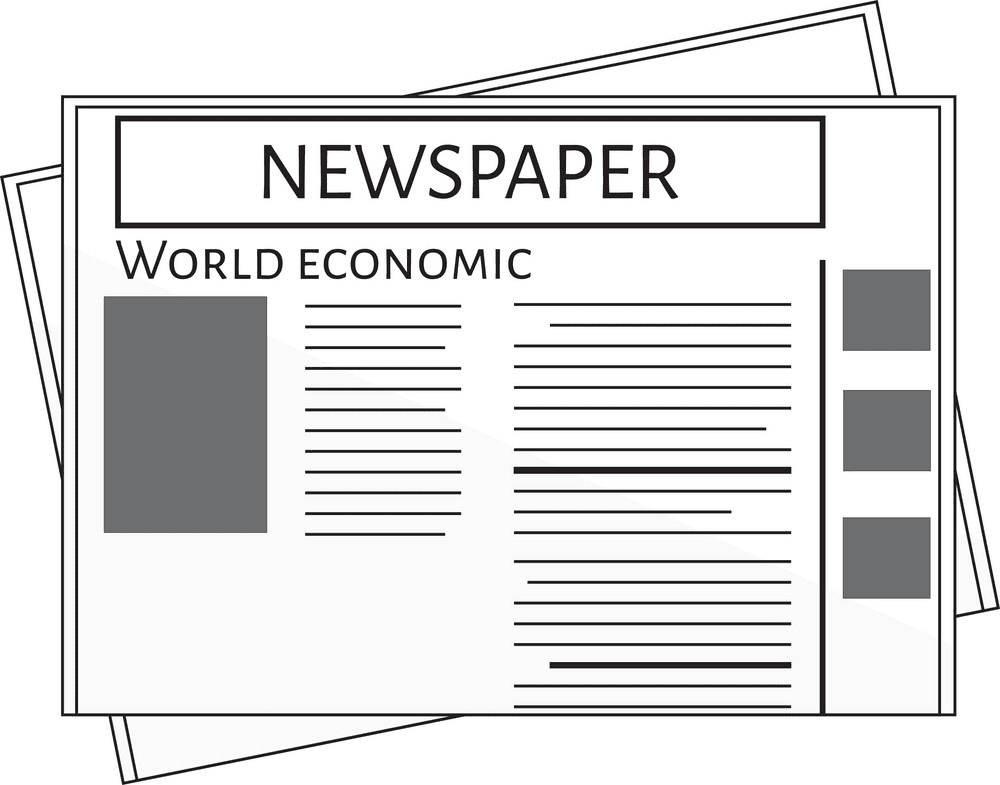 Newspaper clipart png image