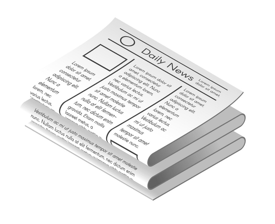 Newspaper clipart png picture