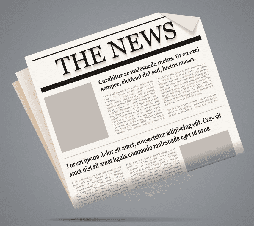 Newspaper clipart png