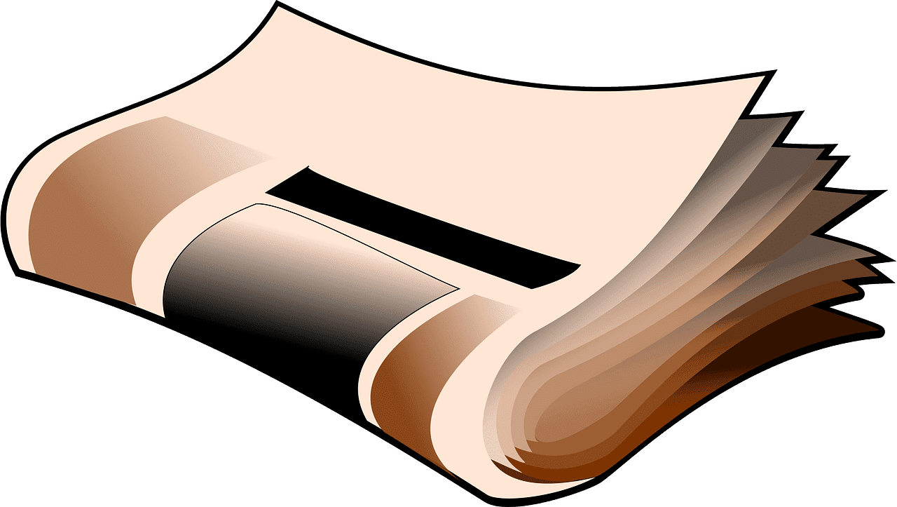 Newspaper clipart transparent 3