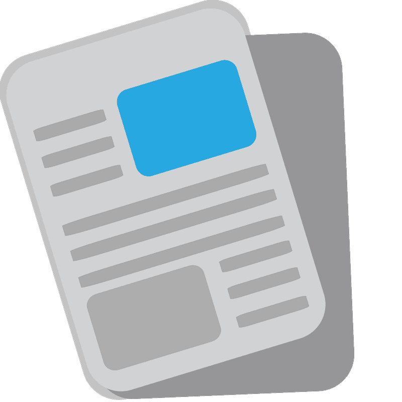 Newspaper clipart transparent 9
