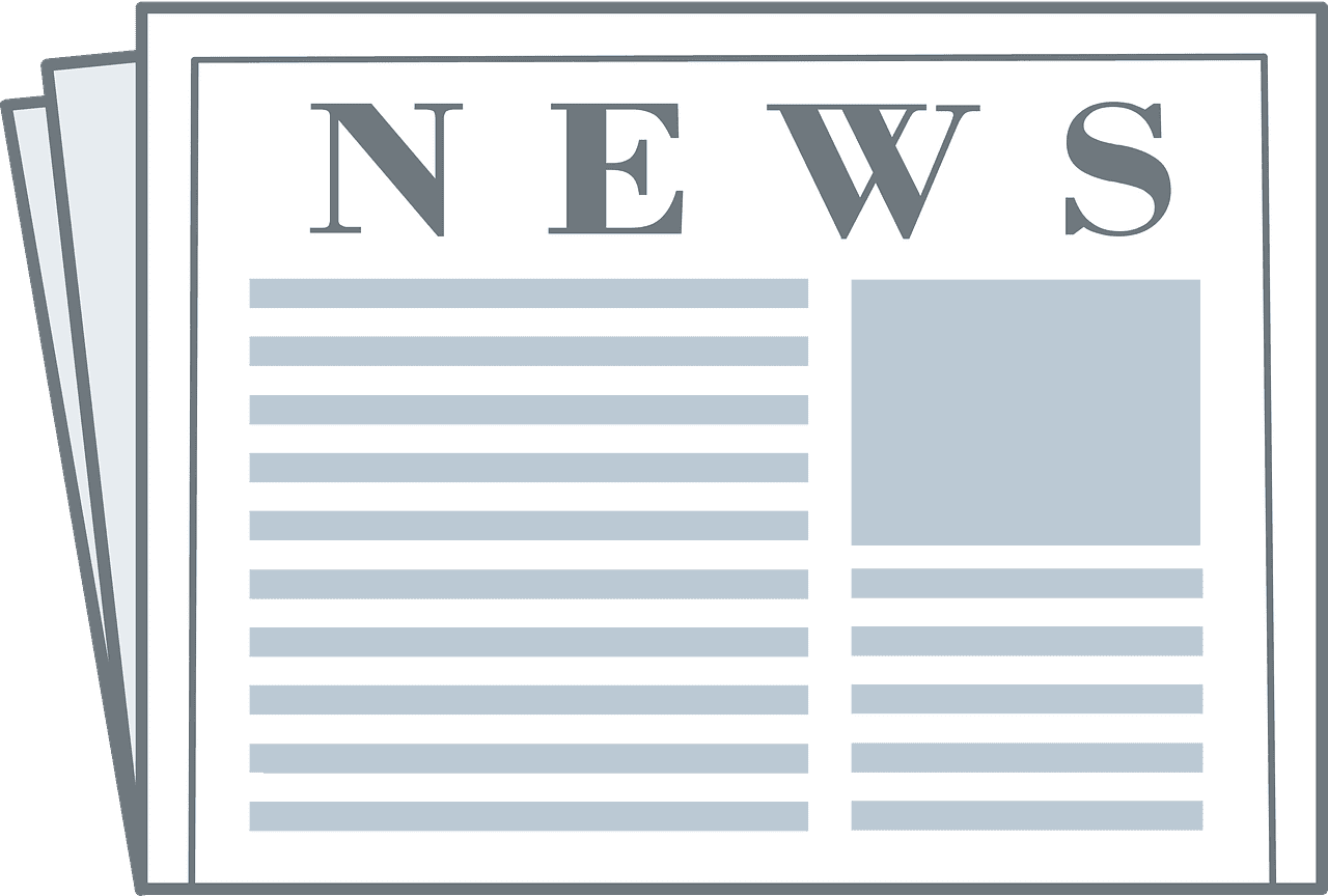 Newspaper clipart transparent images