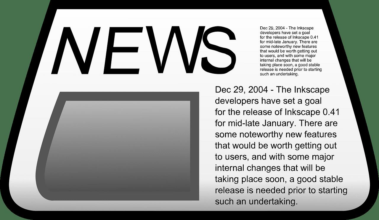 Newspaper clipart transparent png