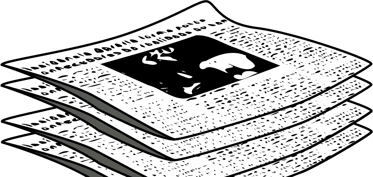 Newspapers clipart transparent image