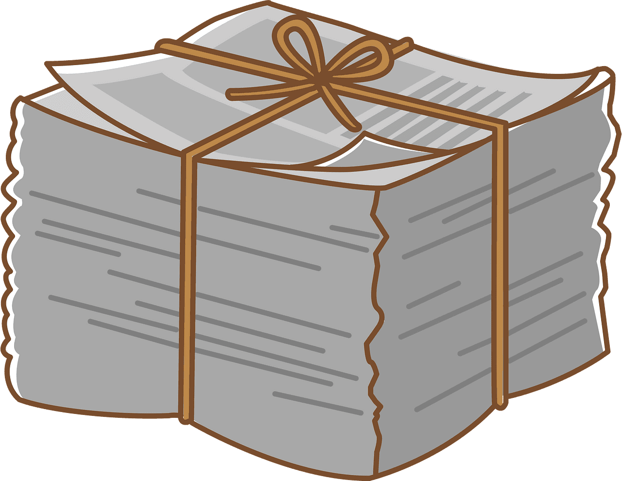 Newspapers clipart transparent