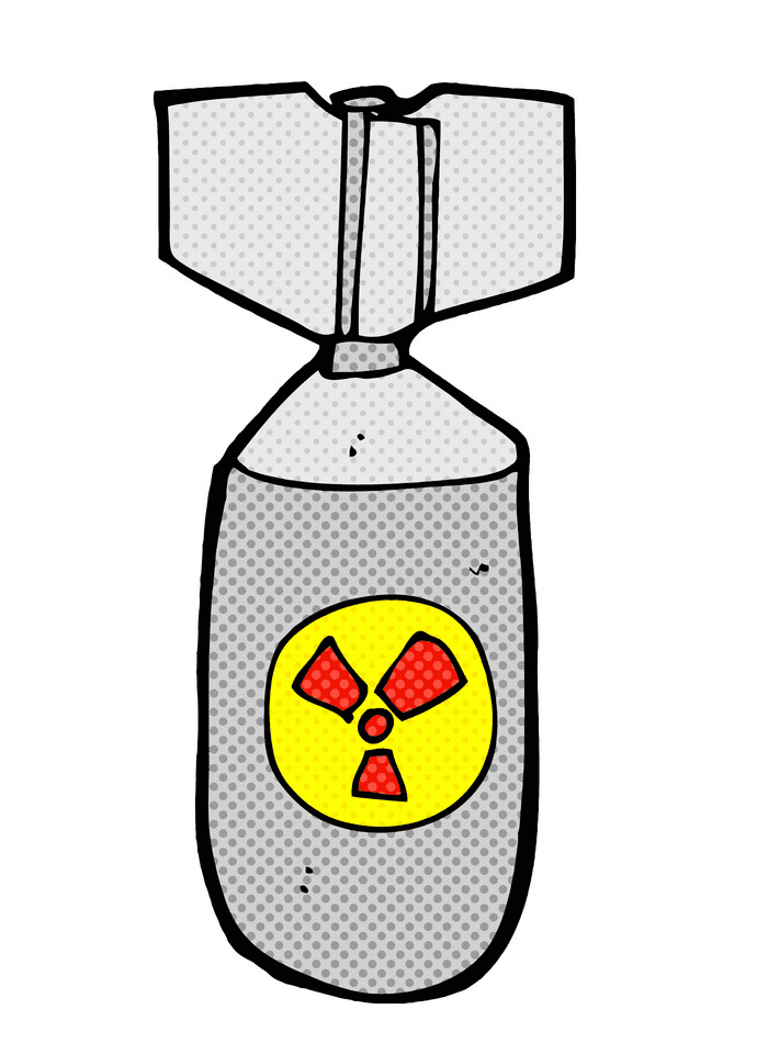 Nuclear Bomb clipart for free