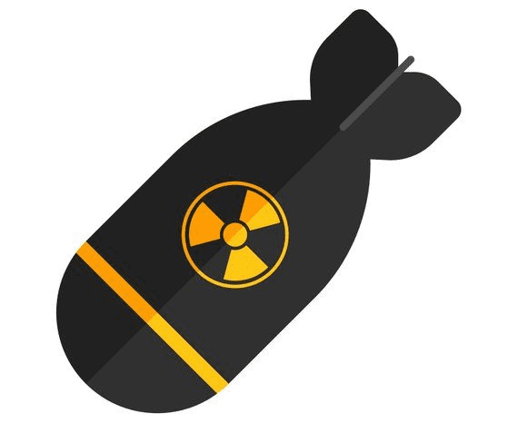 Nuclear Bomb clipart free image