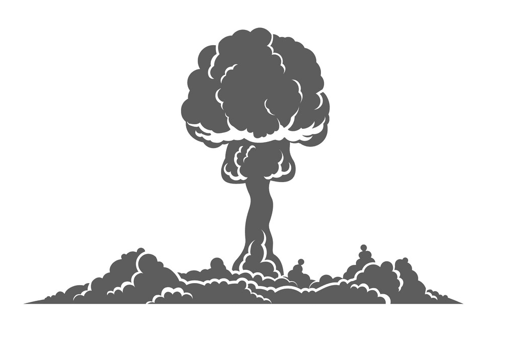 Nuclear Explosion clipart free download