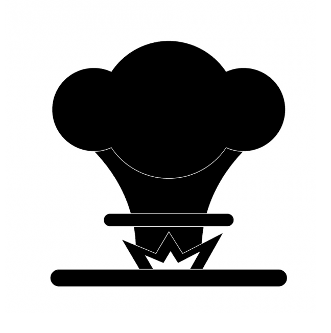 Nuclear Explosion clipart free image
