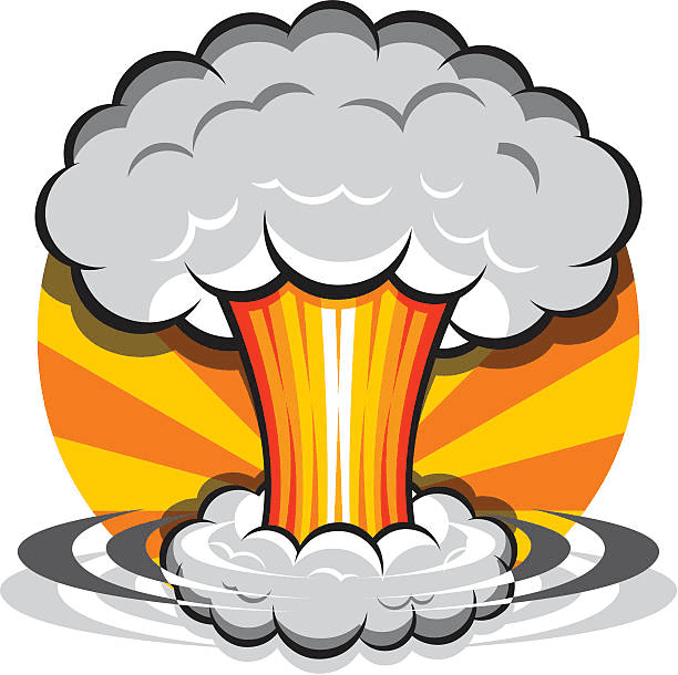 Nuclear Explosion clipart free images