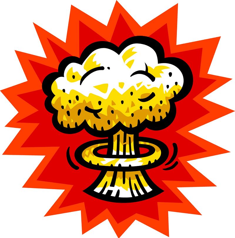 Nuclear Explosion clipart image