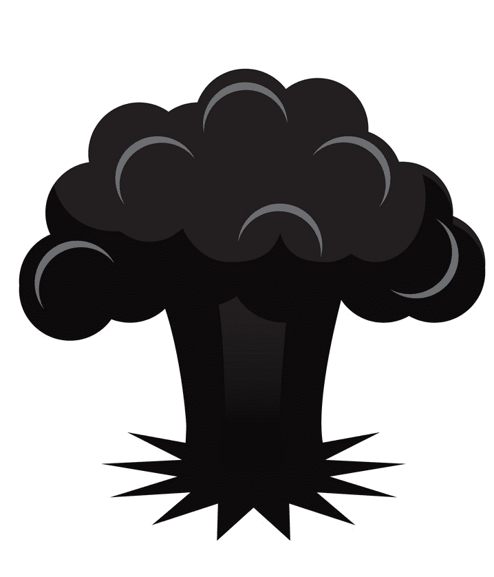 Nuclear Explosion clipart images