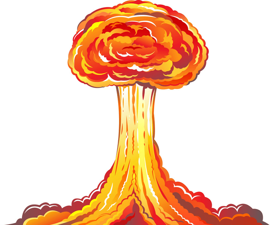 Nuclear Explosion clipart picture