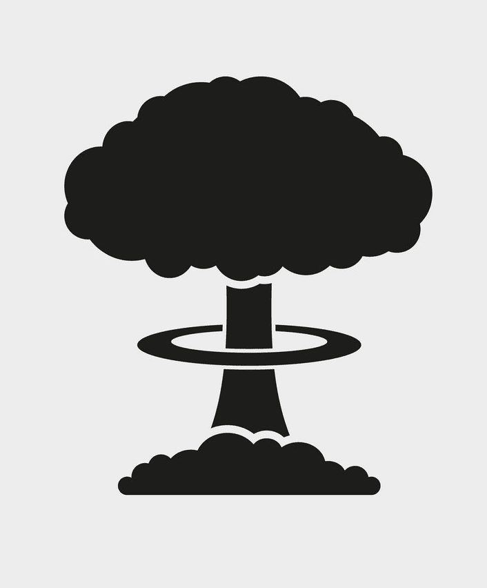 Nuclear Explosion clipart png download
