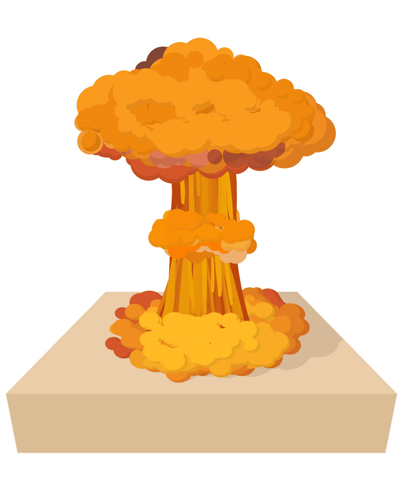 Nuclear Explosion clipart png image