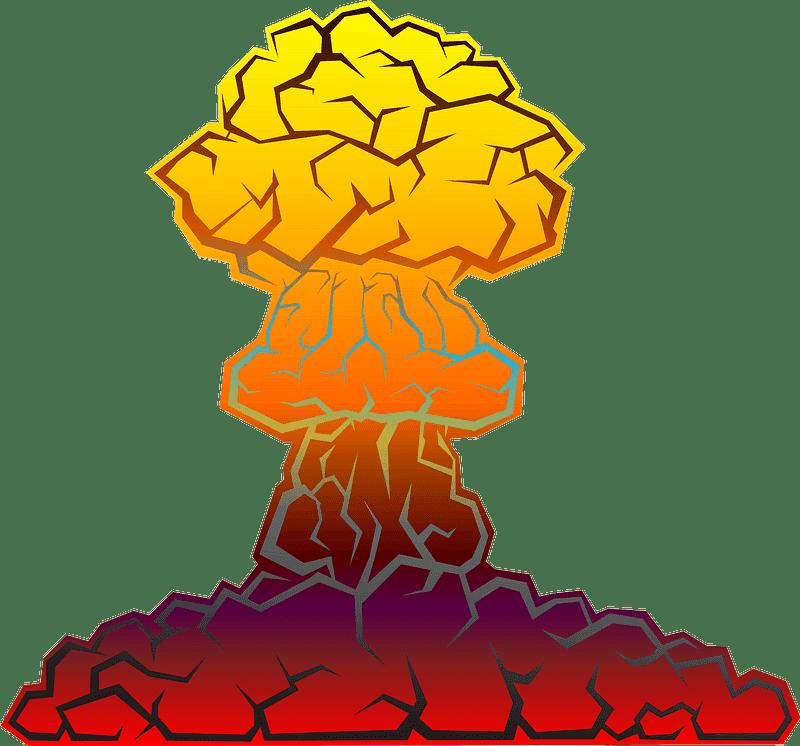 Nuclear Explosion clipart transparent 10