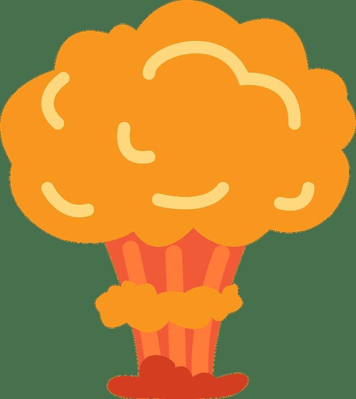 Nuclear Explosion clipart transparent 2