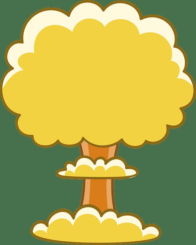 Nuclear Explosion clipart transparent 3