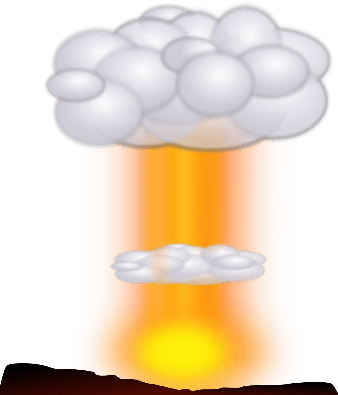Nuclear Explosion clipart transparent 9