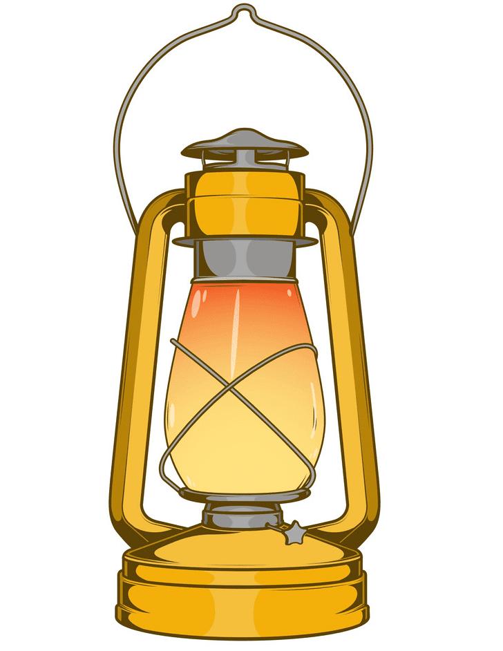 Oil Lamp clipart for kid