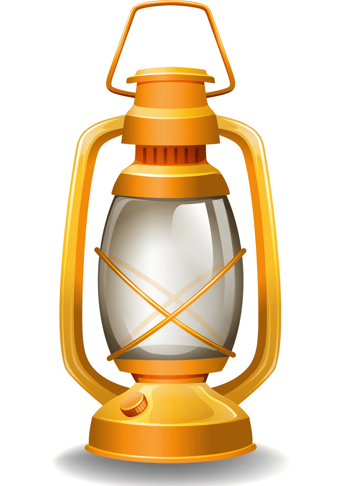 Oil Lamp clipart for kids