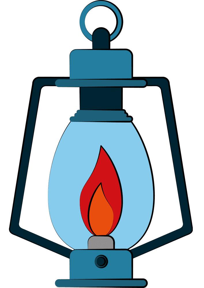 Oil Lamp clipart image