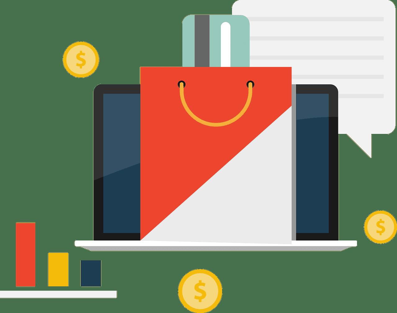 Online Shopping clipart transparent