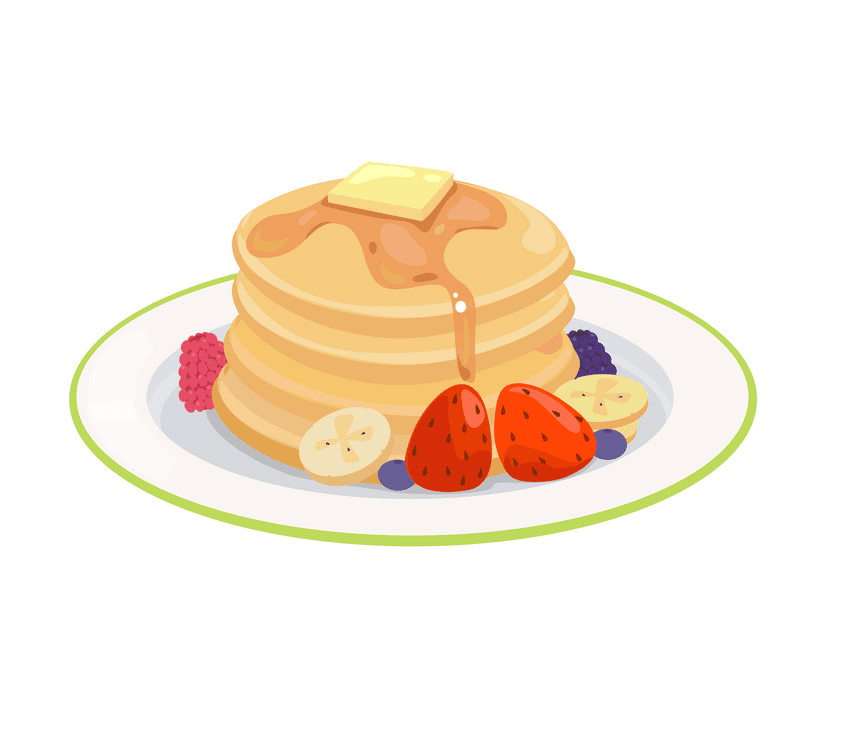 Pancake Breakfast clipart for free