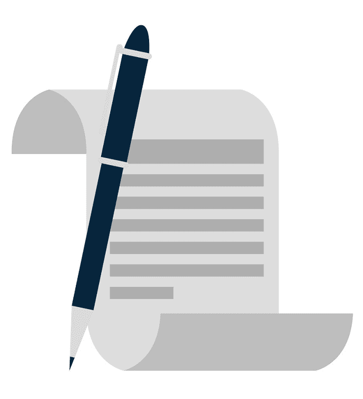 Paper and Pen clipart image