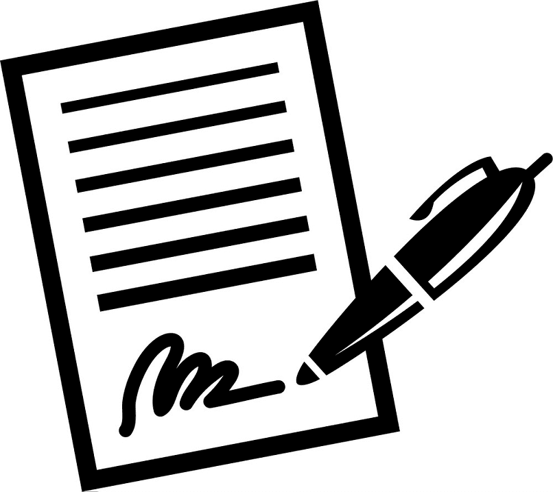 Paper and Pen clipart picture