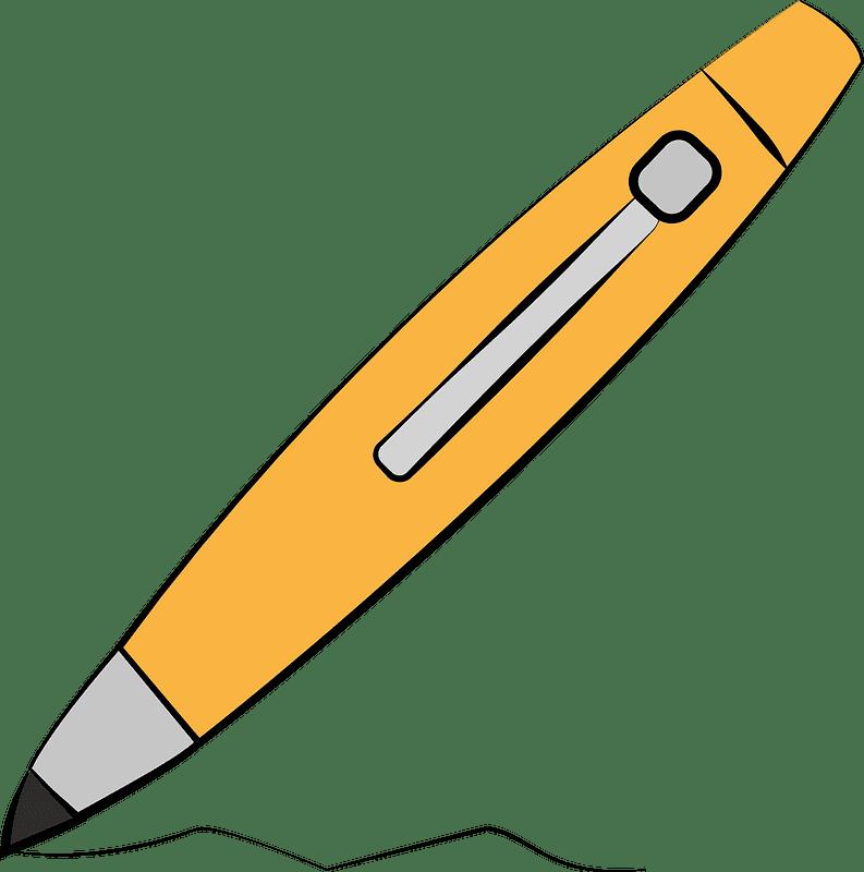 Pen clipart transparent 12