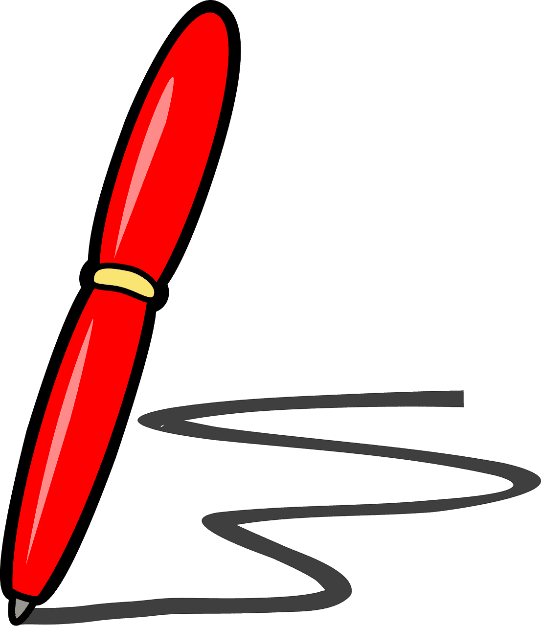 Pen clipart transparent 14