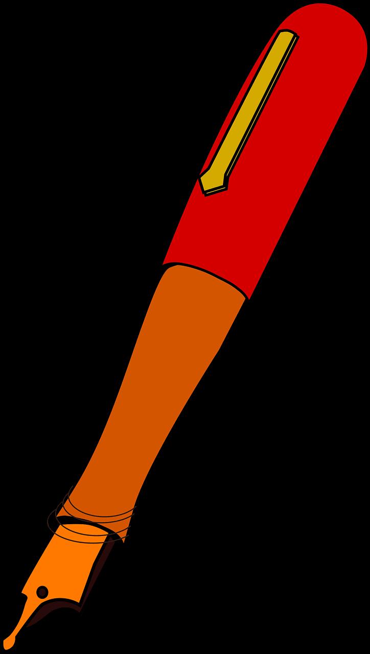 Pen clipart transparent 5