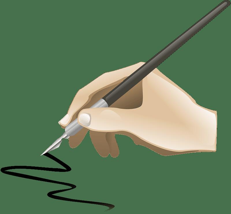 Pen clipart transparent 7