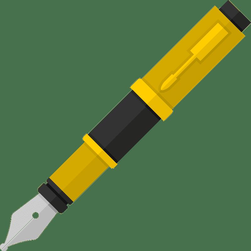 Pen clipart transparent background 10