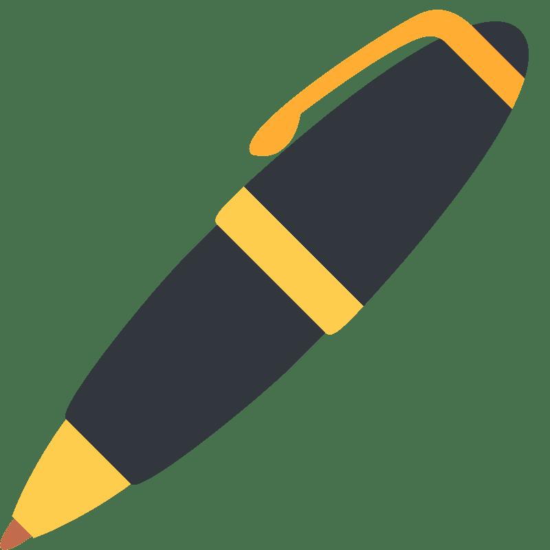 Pen clipart transparent background 3