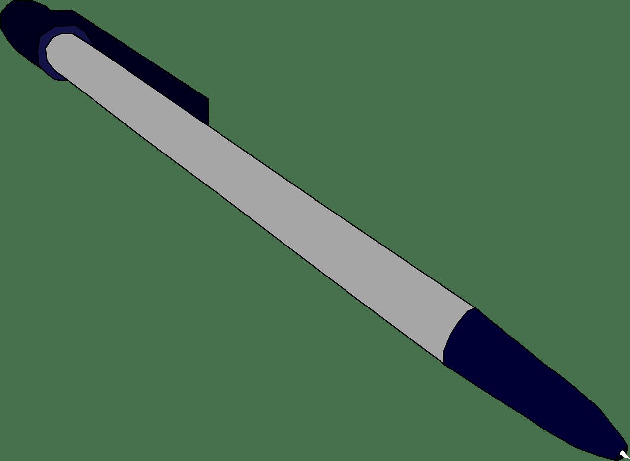 Pen clipart transparent background 7