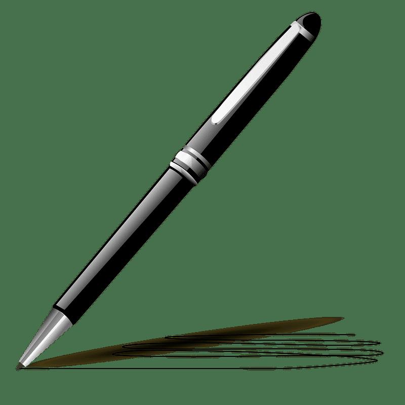 Pen clipart transparent background