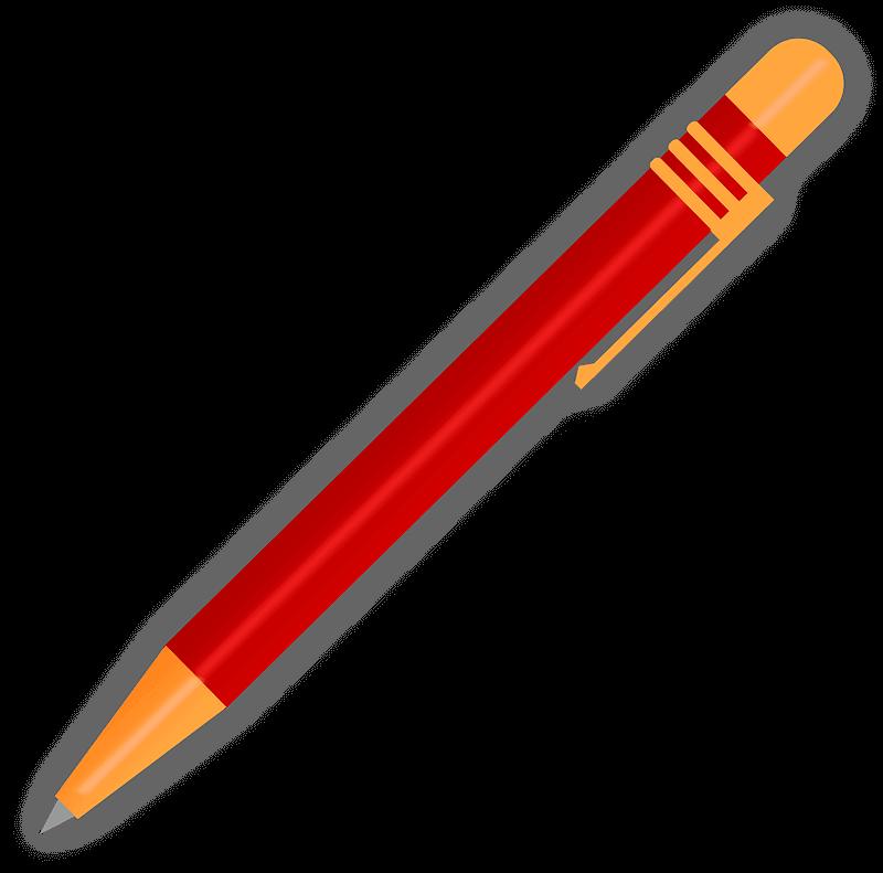 Pen clipart transparent image