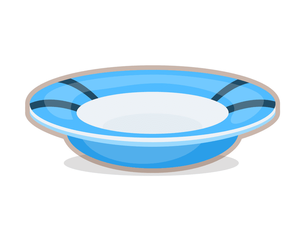 Plate clipart for free