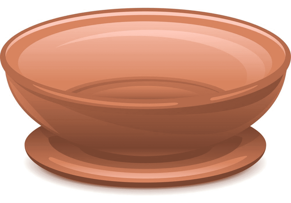 Plate clipart for kids