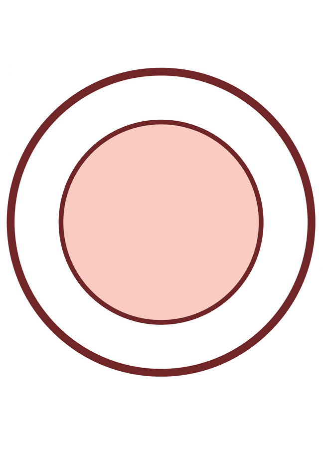 Plate clipart free image