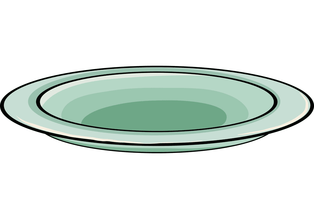 Plate clipart free