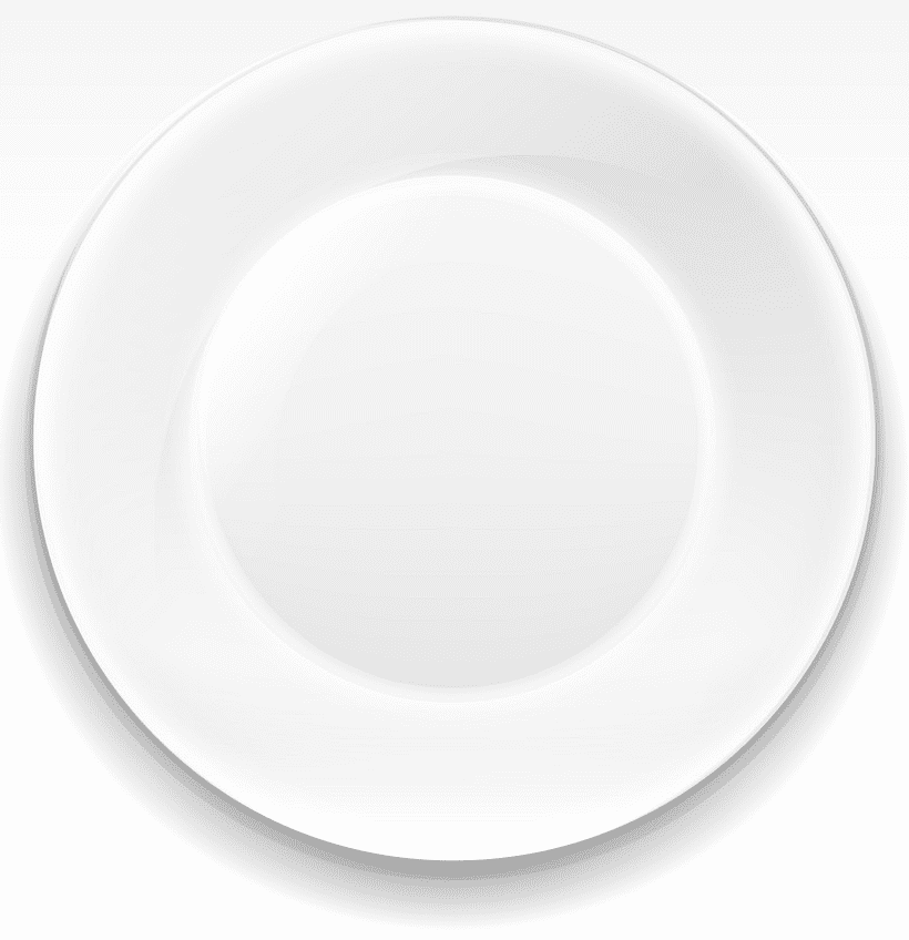 Plate clipart image