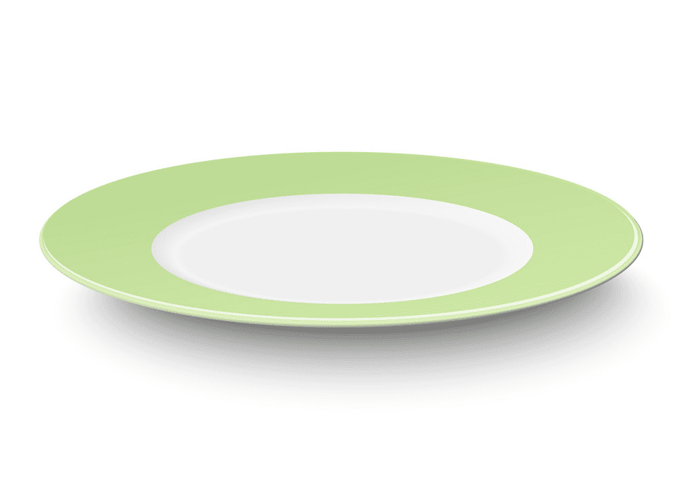 Plate clipart png for kid
