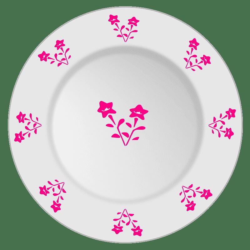 Plate clipart transparent background 10