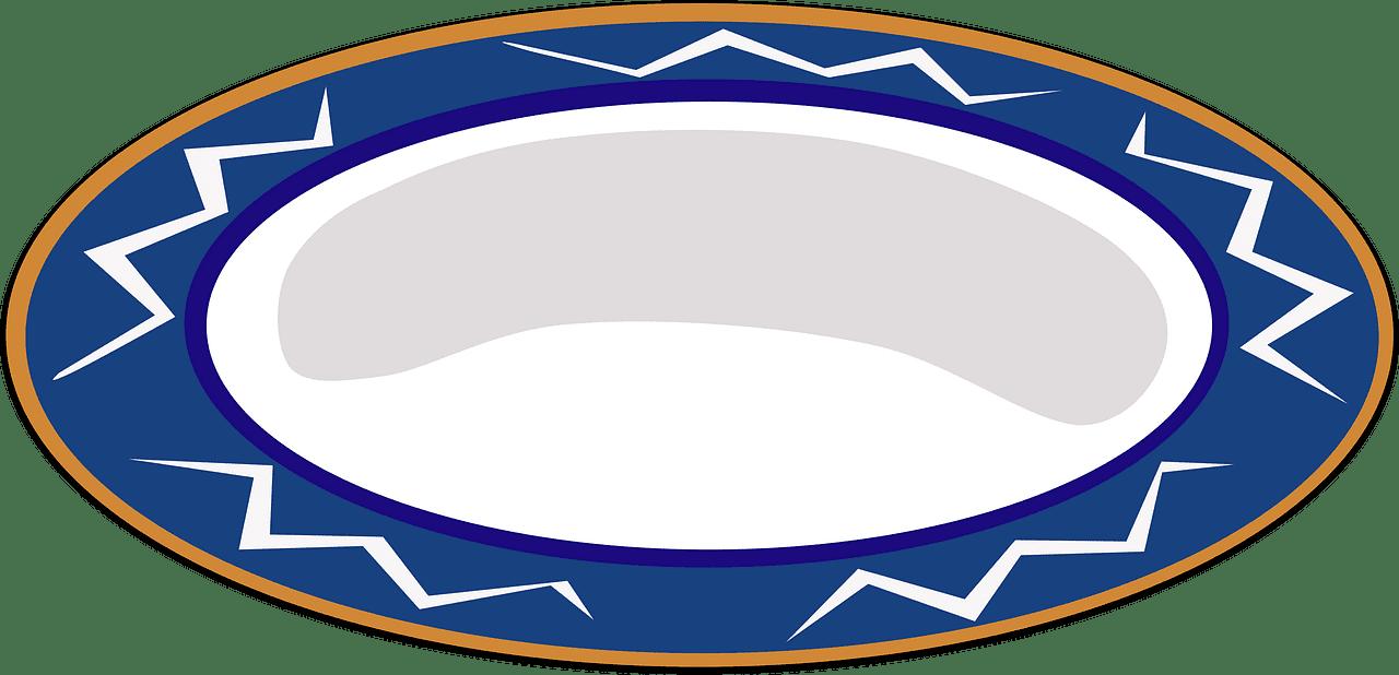 Plate clipart transparent background 6