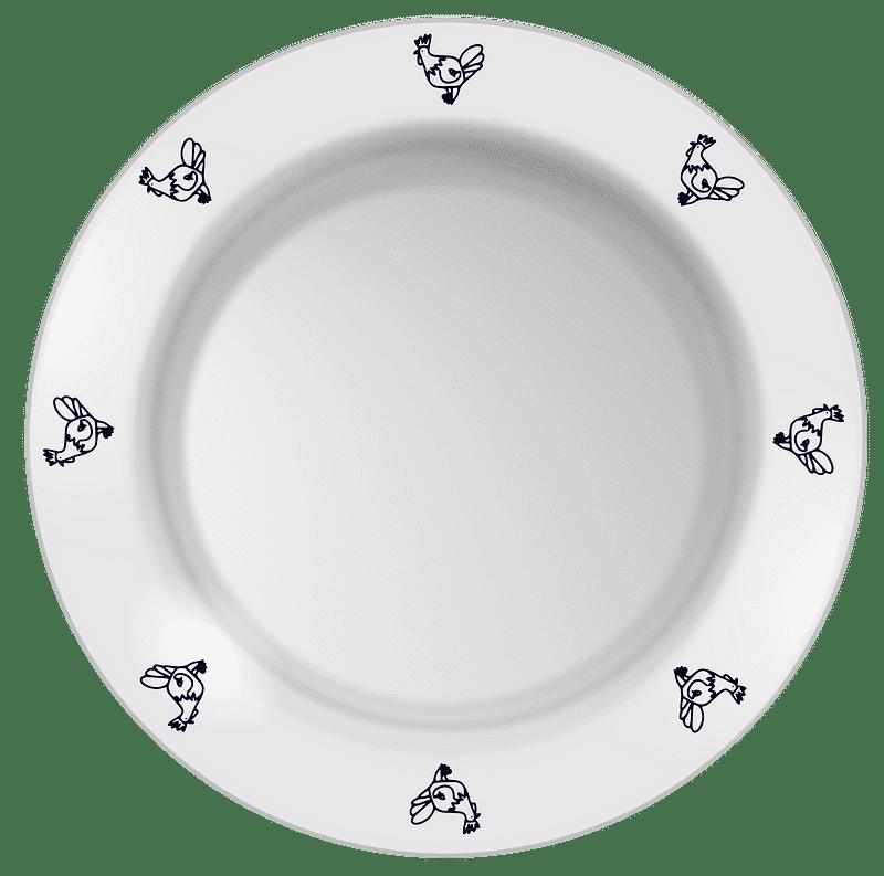 Plate clipart transparent background 9