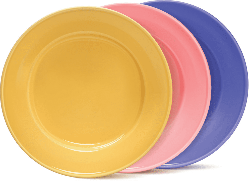 Plates clipart free