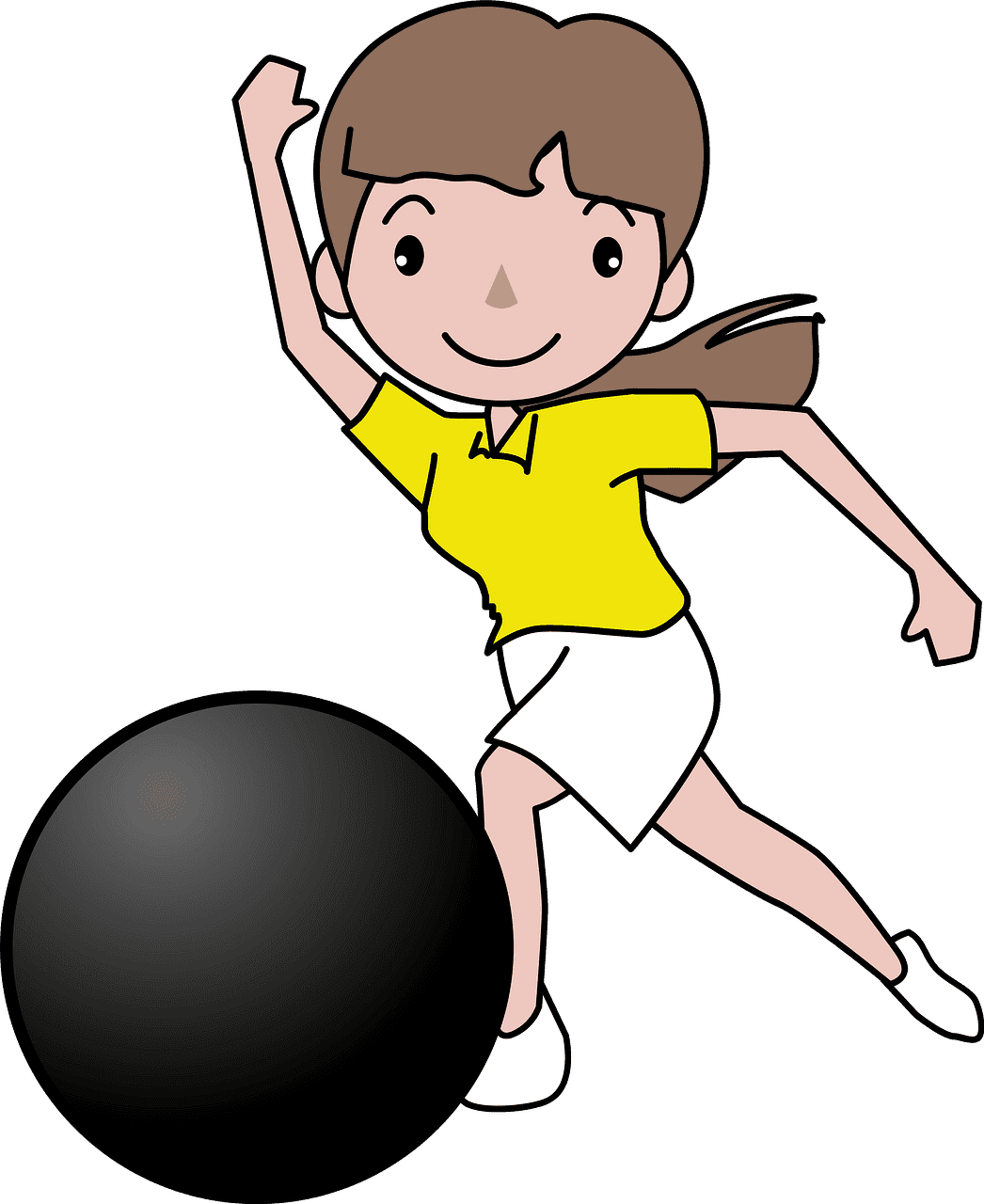Play Bowling clipart transparent 3